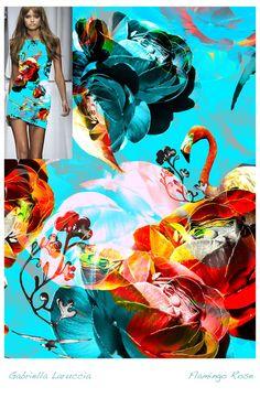 Estampa Digital 01 / Designer: Gabriella Laruccia // Projeto Final do Curso de Criação de Estampas Têxteis / Professor Daniel Moraes