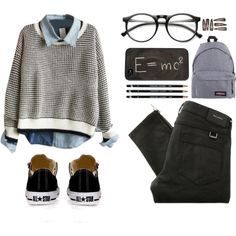 Cute Nerdy Outfits with Glasses