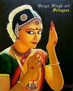 """Shringaar"" Oil painting 24×30 inches"