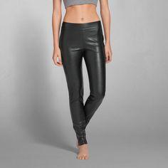Womens Laura Faux Leather Legging   Womens The Trend Edit   Abercrombie.com