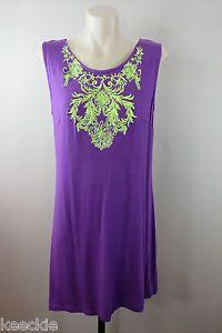 Size 16 XL Ishka Ladies Shift Dress Casual Sleeveless Boho Beach Swim Design | eBay