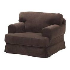 HOVÅS chair cover, Gräddö brown
