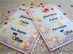 10 Envelopes Chuva De Arroz-lembrancinha Casamento - R$ 19,00