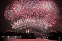 Sydney, Australia; New Years Fireworks