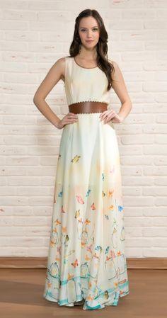 Vestido Longo Free | Vestuário | Antix Store