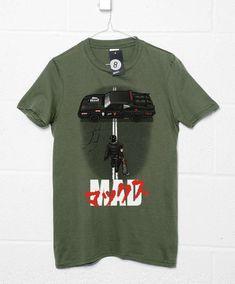 Mad Warrior T-Shirt - Mens / Olive / Large