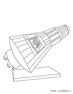 saturn v coloring pages - photo#17