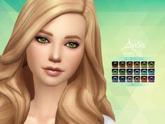 Aveira's Sims 4, Eyes #15 **Update 04.02.2017** Added heterochromia...