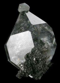 Calcite on Herkimer