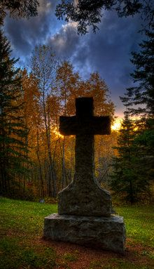 Capture Minnesota Photo Contest - Cemetery Sunset by Ryan Engstrom
