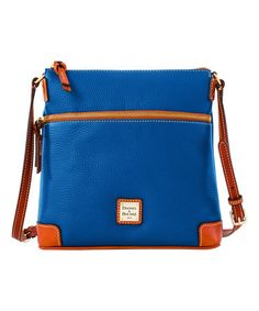 Love this Jeans Leather Crossbody Bag on #zulily! #zulilyfinds