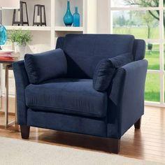 navy armchair comfortable - Google Search