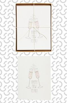 HARTLAND BROOKLYN 'Happy New Years' Cards (Set of 6) available at #Nordstrom
