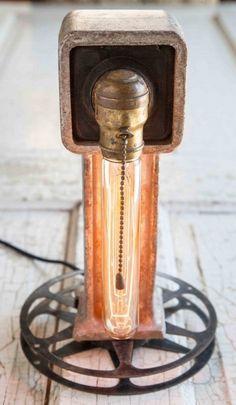 Rustic Film Reel Light