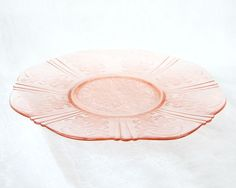 Pink Depression Glass Macbeth Evans American by albrechtsantiques, $12.00
