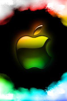 Dark Phone Wallpapers, Apple Logo Wallpaper Iphone, Graphic Wallpaper, Disney Wallpaper, Wallpaper Backgrounds, Nike Wallpaper, Apple Images, Apple Background, Apple Stickers