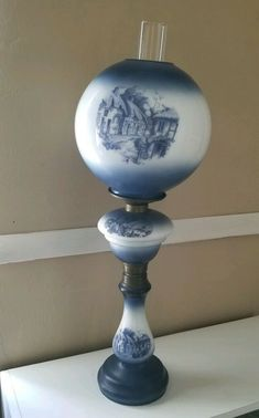 """Super Nice SOHIO Gasoline Collectible Glass 1/"""" Logo Marble W// Stand"""