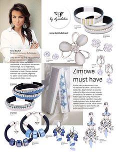 """Nasza dyrektor artystyczna, Anna Dziubek, na łamach magazynu """"Cosmopolitan"""" doradza, jaką biżuterię wybrać na zimę  #bydziubeka #jewerly # #fashion #style #magazine #pressroom #press"""