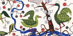 Another Josef Frank fabric.  All so beautiful, all out of my price range.