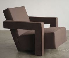 1960s Gerrit Rietveld Utrecht Chair   From a unique collection of antique and modern lounge chairs at https://www.1stdibs.com/furniture/seating/lounge-chairs/