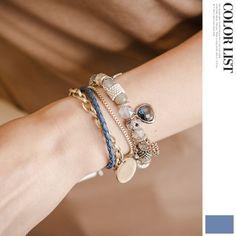 Korea womens shopping mall [JOAMOM] Emmental gemstone bracelet JA0084 / Price : 41.27 USD #korea #fashion #style #fashionshop #joamom #missyfashion #missy #acc #accessory