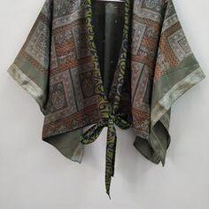 Kimono Blouse Tops Vintage Soft Tops Sleeveless Blouse | Etsy Kimono Shrug, Kimono Blouse, Sleeveless Blouse, Cardigans For Women, Blouses For Women, Shrugs And Boleros, Summer Tunics, Bohemian Blouses, Short Kimono