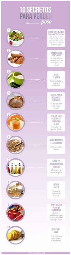 Prueba la efectividad de estos alimentos para ayudarte a perder peso. #saludybelleza #ekala