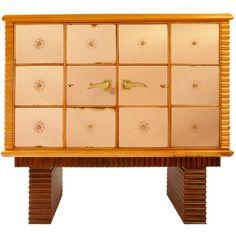 Osvaldo Borsani Important Mirror Cabinet Bar c1936 Italy