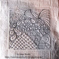 zentangle quilt squares and moving