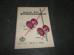 Vintage Garcia Abu Ambassadeur 5000 Fishing reel Catalog w Spare Parts Price #Garcia