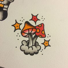 Little shrooms available to be tattooed - Moyiki Sites Hippie Painting, Trippy Painting, Painting & Drawing, Hippie Drawing, Psychedelic Drawings, Trippy Drawings, Art Drawings, Small Canvas Art, Mini Canvas Art