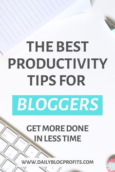 Discover the best productivity tips and hacks for bloggers and entrepreneurs that will allow you to get 2x more done in less time. Even while working full time on your soul-sucking job. Make Money Blogging, How To Make Money, How To Get, Blogging Ideas, Money Tips, Business Tips, Online Business, Time Management Tips, Blogging For Beginners