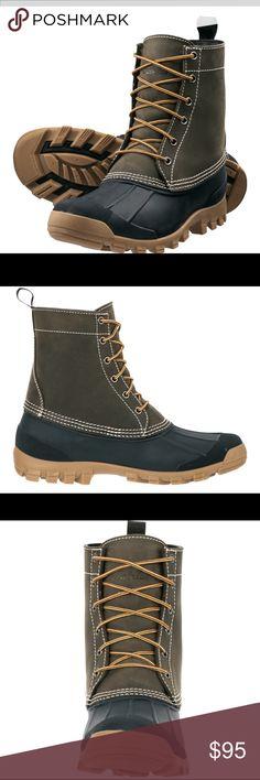 90eb827d2f1 Cabela s Men s 9   Lace Up 200 gram Duck Boots 10D 200-gram Thinsulate