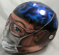 Custom Motorcycle Helmets   ... Boyz: Part 206 - Weird And Wonderful Custom Motorcycle Helmets