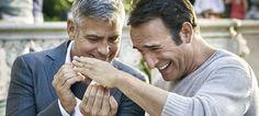 George Clooney junta-se ao francês Jean Dujardin na nova campanha Nespresso