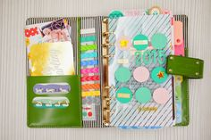 Happiness is Scrappy: Planner | My 2015 Resolution