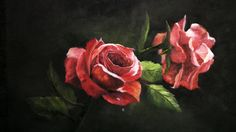 Watch Kevin as he teaches you how to paint these roses with dramatic lighting! Go to www.paintwithkevin.com for DVDs, brushes and paint.