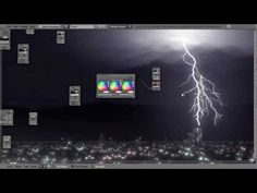 How to Create a Lightning Storm in Blender - YouTube