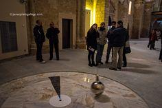 Péndulo de Foucault ubicado en el la iglesia de San Pedro. Becerril de Campos. Palencia. Castilla y León. España, 2015 © Javier Prieto Gallego;