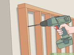 How to Build a Climbing Wall (with Pictures) - wikiHow Climbing Wall Kids, Outdoor Play Equipment, Free Standing Wall, Plywood Sheets, Recreational Activities, Projects To Try, Make It Yourself, Building, Pictures