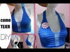 Crop Top Blusa Tejido fácil y rápido ganchillo crochet easy Blouse DIY - YouTube