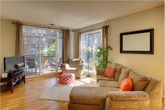 Minneapolis Loft Living-- Living Room Design