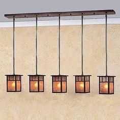 Craftsman Chandelier Light