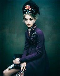 Photograph by Paolo Roversi for Vogue Italia