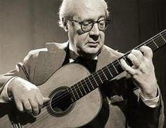 Segovia. My favorite classical guitarist.