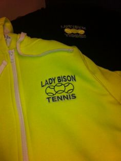 Lady Bison embroidery!