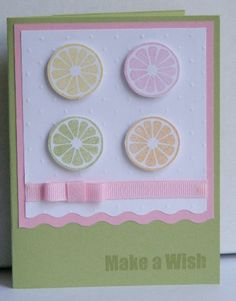 Tart & Tangy pastel birthday by lolli74 - Cards and Paper Crafts at Splitcoaststampers