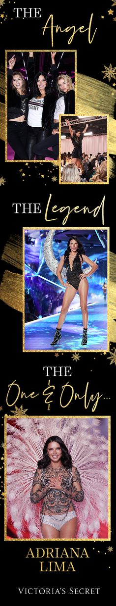 The most epic Angel in Victoria's Secret Fashion Show history: Adriana Lima deserves nothing less than the moon and the stars for her final walk down the runway. Modelos Victoria Secret, Adriana Lima Victoria Secret, Victoria Secret Angels, Victoria Secret Fashion Show, Queen Victoria, Victoria Secrets, Gigi Hadid Runway, Vs Models, Runway Models