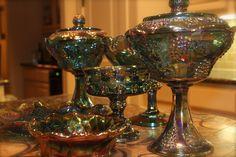 I love antique Carnival Glass...