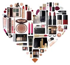 """The Heart of Beauty"" by l33l ❤ liked on Polyvore featuring Bobbi Brown Cosmetics, Lancôme, MAC Cosmetics, NARS Cosmetics, INIKA, Edward Bess, Charlotte Tilbury, Maybelline, Dolce&Gabbana and Deborah Lippmann"